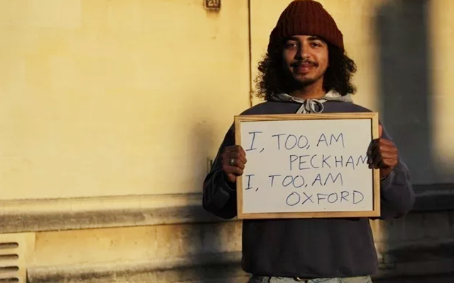 I too am Oxford-BME students' campaign
