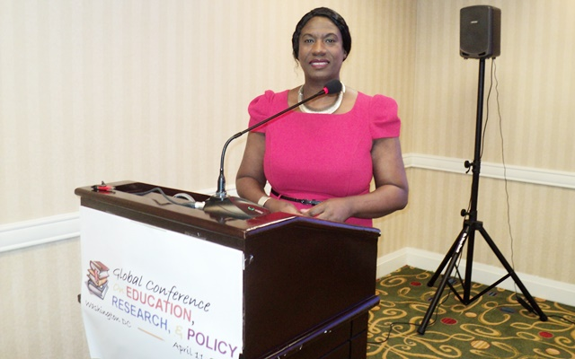 BBA founder delivers powerful keynote address at global education conference in Washington DC