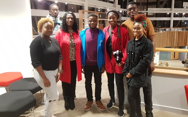BBA Founder attends launch of 1st Black Students Campaign at BU