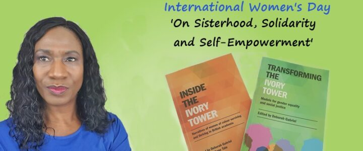 Ivory Tower Poem: On Sisterhood, Solidarity & Self-Empowerment